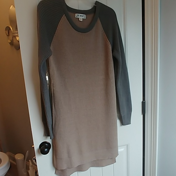 say what Dresses & Skirts - Sweater dress sequin elbows